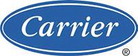 Logo du partenaire CARRIER. ATCE Énergie, spécialisée dans les installations de chauffage, ventilation, climatisation et plomberie, à Aix en Provence.