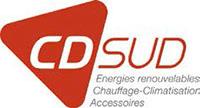 Logo du partenaire CDSUD. ATCE Énergie, spécialisée dans les installations de chauffage, ventilation, climatisation et plomberie, à Aix en Provence.
