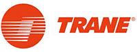 Logo du partenaire TRANE. ATCE Énergie, spécialisée dans les installations de chauffage, ventilation, climatisation et plomberie, à Aix en Provence.